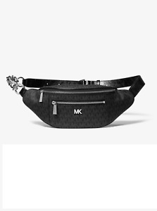 MICHAEL MICHAEL KORS Medium Logo Belt Bag Black