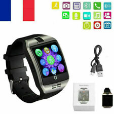 Q18 Bluetooth Montre connectée Smartwatch téléphone TF SIM pr iPhone Android