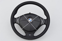 BMW Z3 e36 e31 e34 E39 E38 M3 M5 SPORT BMW STEERING WHEEL NEW BLACK NAPPA ///M