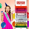 Birthday Girl Sash 16th 18th 21st 30th 40th 50th 60th Party Gift Sashes New