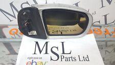 MERCEDES W210 ECLASS DRIVER OFFSIDE MIRROR (DISCOLOURED GLASS)
