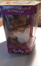 1998 Furby tiger stripe red eyes
