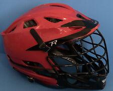 Red/Black Size OSFM Cascade R Mens Lacrosse Helmet