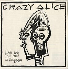 "CRAZY ALICE Gone Away 7"" 1991 Boston GRUNGE Indie MESCALINE DIAMOND"