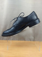 Allen Edmonds Black Lace up Moc Split Toe Oxford Men's Dress Shoes Size 7.5 D