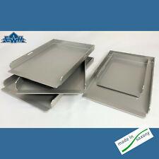 Edelstahl Grillplatten Burgerplatten Plancha verschiedene Größen V2A