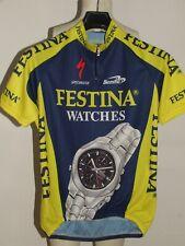 Bike Cycling Jersey Maillot Shirt Cyclism Sport Team Festina Biemme Size L