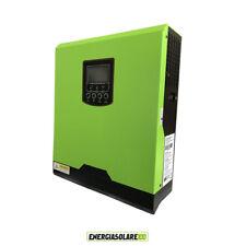 Inverter onda pura Ibrido Solare Fotovoltaico 1KW 12V Regolatore di Carica 50A P