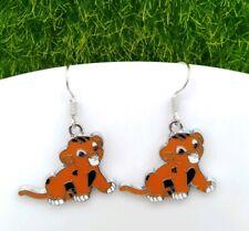 Movie Disney Drop Earrings Gift Idea One Pair Lion king Simba Metallic Cartoon