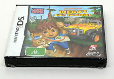 Go Diego Go - Diego's Build and Rescue - Nintendo DS
