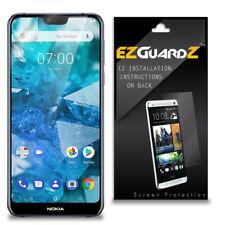 2X EZguardz Clear Screen Protector Shield HD 2X For Nokia 7.1