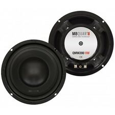 MB QUART QMW200 VW Woofer 20cm QMW-200 VW Golf IV, Golf V, Passat 96-05 2 Pezzi
