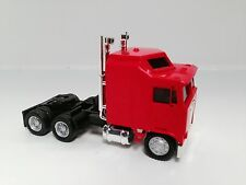 HO 1/87 Promotex # 25258 KW  K-100 1 Bar Grill Tandem Semi Tractor Red