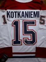 "Jesperi Kotkaniemi Signed Montreal Canadiens ""KK"" Inscribed Fanatics Away Jersey"
