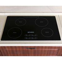 Branded 31.5 inch 240V Induction Hob 4 Burner Stove A-grade Glass Plate Cooktop
