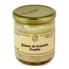 GESIERS DE VOLAILLE CONFITS - BOCAL SOUS VIDE 350g - DOMAINE DE VITAILLES