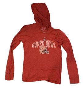 47 Brand San Francisco 49er's 2013 Super bowl Women's T- Shirt Small