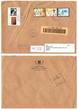 2003 Vaticano GP II busta viaggiata viaggi del Papa + Gauguin