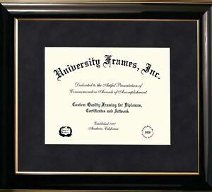 Diploma frame, 11x8.5 opening diploma, traditional mahogany satin frame