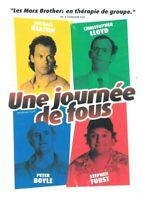 DVD UNE JOURNEE DE FOUS
