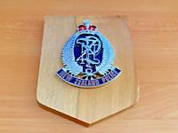 New Zealand Police Plaque