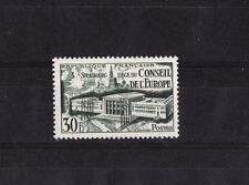 timbre France  Conseil de l' Europe  de  1952 avec charnière   NUM: 923  *