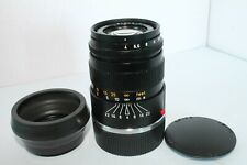 LEITZ WETZLAR 90MM F 4.0 ELMAR-C LENS WITH HOOD AND CAPS MINT