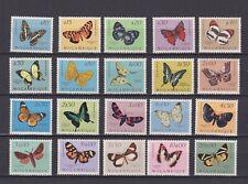 MOZAMBIQUE 1953, Sc# 364-383, CV $51, butterflies, MLH