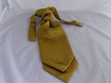 Gold BOYS Polyester Scrunchie Ruche Wedding Tie-Cravat - Wedding-Pageboy
