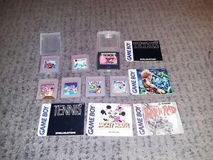 Nintendo Gameboy Spielesammlung