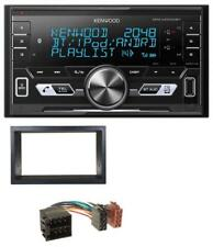 Kenwood 2DIN AUX MP3 Bluetooth USB Autoradio für VW Golf 4 Polo T4 Fox Passat IS