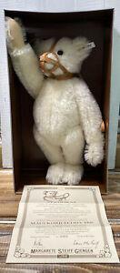 Vintage 1988 Steiff Muzzle Bear Replica 1908 in Box COA Limited #821 of 5000