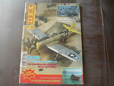 MMA MAQUETTES MODELES ACTUALITE N° 39/STALINGRAD/P47N/CHASSE LUFTWAFFE