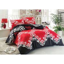 Bettwäsche 200x220cm 4-teilig mit Reißverschluss / 100% Baumwolle / top Qualität