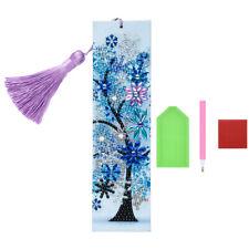 5D Diamond Painting Bookmark DIY Art For Kids Adults Pattern Book Mark Kit