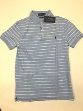Ralph Lauren - Stripe Polo Shirt-S-Blue/White- Slim Fit -*NEW WITH TAGS* RRP £90