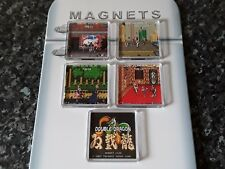 Double Dragon Fridge Magnet Set. NEW. Retro Videogame Memorabilia. Arcade