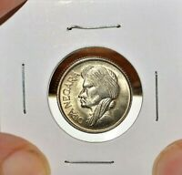 1957 INDONESIA 50 SEN CHOICE / GEM UNCIRCULATED CONDITION