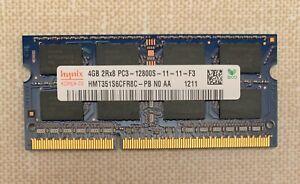1X 4GB  hynix PC3-12800S (DDR3-1600) laptop ram  HMT351S6CFR8C-PB  - TESTED