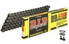DID STD Drive Chain 428D 130 links fits Hyosung RT125 Karion 03-06
