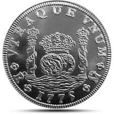 Spanish Pillar Dollar Round 1oz .999 Fine Silver Historic Collector Edition