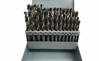 RDGTOOLS 6 - 10MM DRILL SET BRIGHT WHITE FINISH PRECISION HIGH SPEED STEEL
