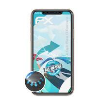 3x Lámina Protectora para Apple iPhone XS Front cover transparente&flexible