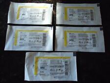 "Lot of 5   Xeroform Occlusive Gauze Strip Overwrap 3% Bismuth Tribrom  1"" x 8"""