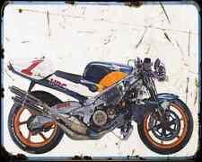 Honda Nsr 500 90 A4 Photo Print Motorbike Vintage Aged