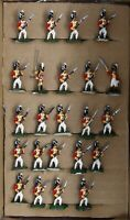 Vintage Hinchliffe, Minifigs & Similar 25mm. Napoleonic British Infantry x 23.