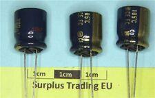 Condensatore elettrolitico radiale Panasonic 390uF 35V 105C (pacco da 2)