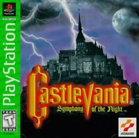 Castlevania Symphony of the Night for PlayStation 1 - Platform RPG Video Game