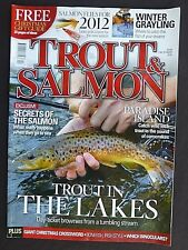 Trout And Salmon  December 2011, The Benefits Of A Stonefly Pattern, Sea Trout.