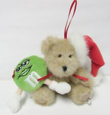 """Boyds 919030 Holly Bear with M&M's Character """"Green"""" * Brand New * Mint Tags"""